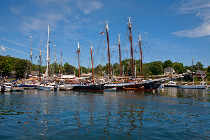 Camden, Maine, Boats, Harbor, New England, photo
