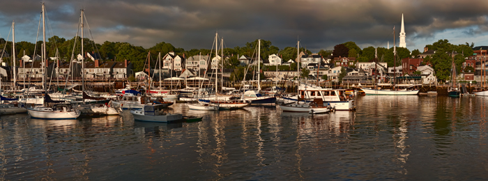 Camden Maine, Harbor, Boats, , photo