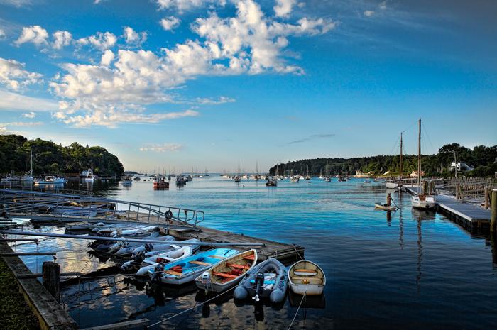Camden, Maine, New England, Boats, Coast,Sail Boats, Harbor, photo