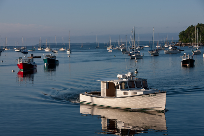 Maine, Fishing Boat, Lobster Boat, New England, Rockport, Maine, photo