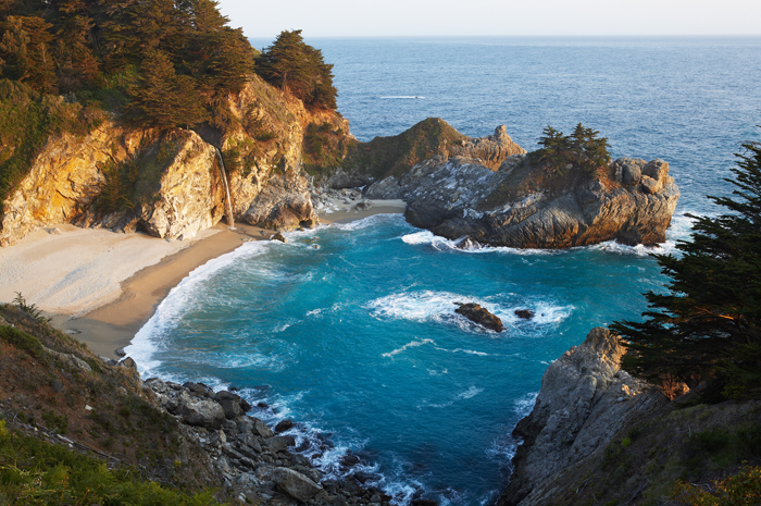 Julie Pfeiffer State Park, Big Sur, California, State Park, West, Pacific Ocean, West of New England, photo