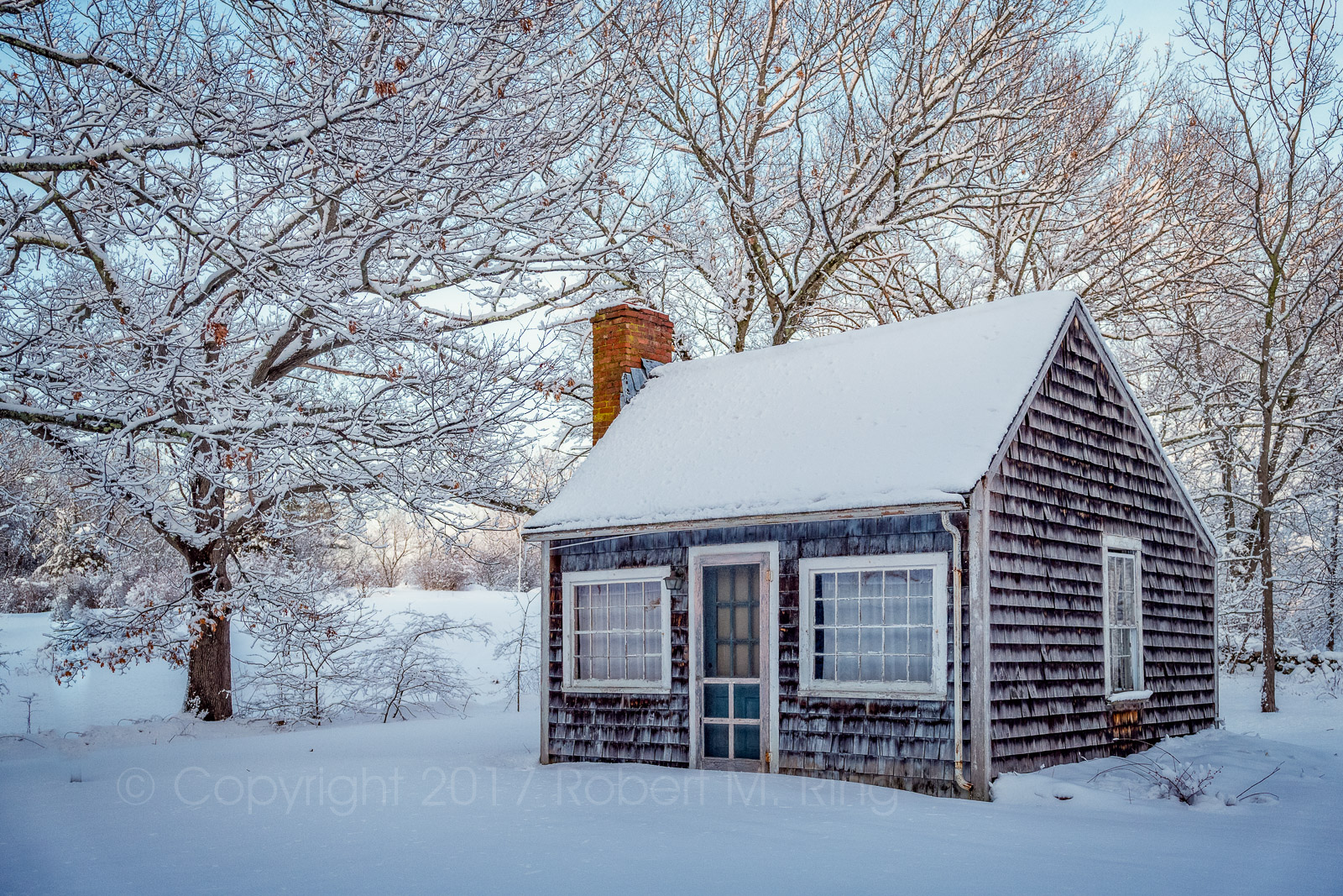Snow, new england, shed, massachusetts, essex county, photo