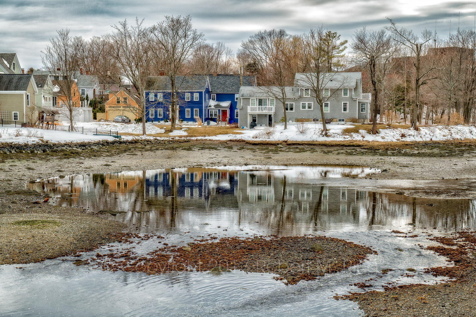Portsmouth, NH, New England, Scenic, Landscape, houses