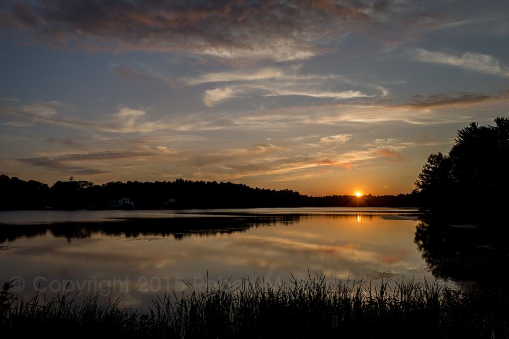 sunset, new england, massachusetts , photo