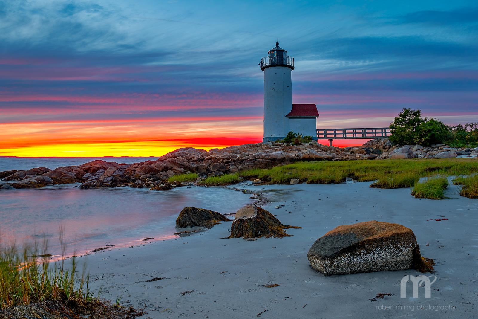Annisquam Light, Sunset, photo