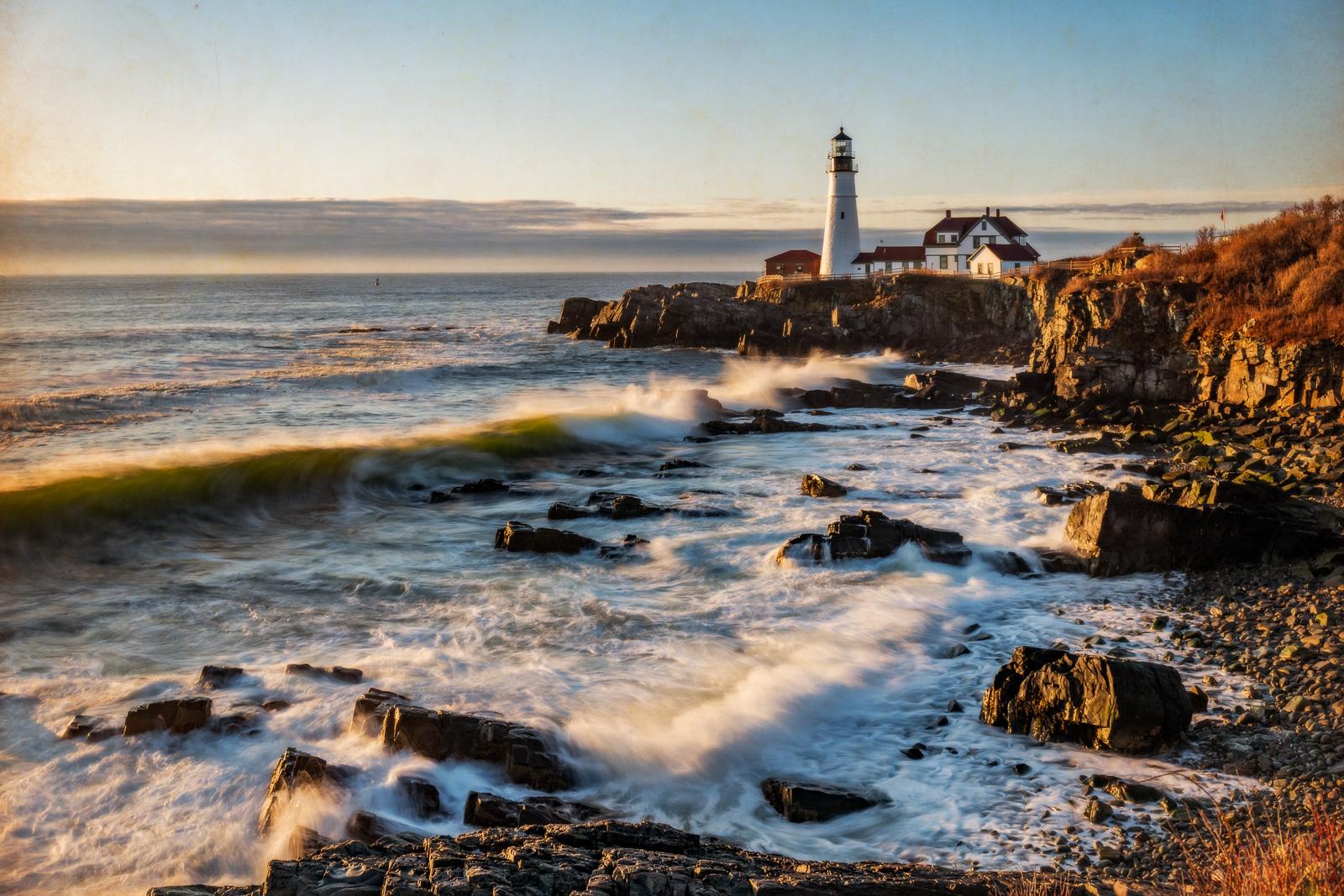 Maine, New England, Portland Maine, photo