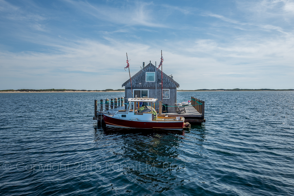 Could you live in a house like this like this off of Cape Cod? Gee, I'm not sure I could....