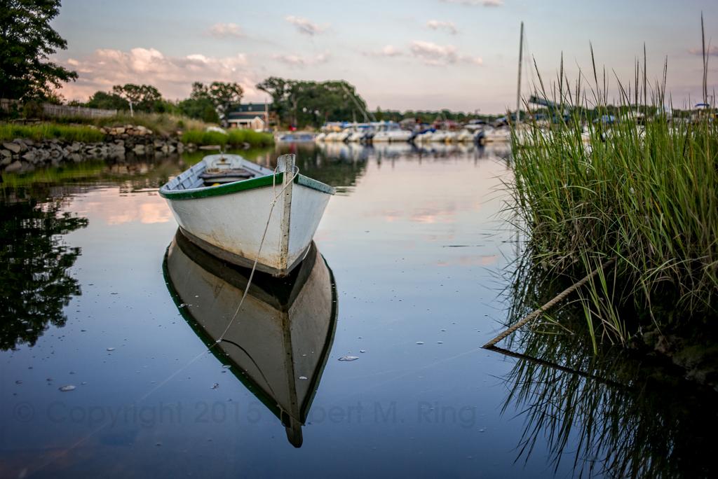 Essex, MA, New England, Marsh, Boat, photo