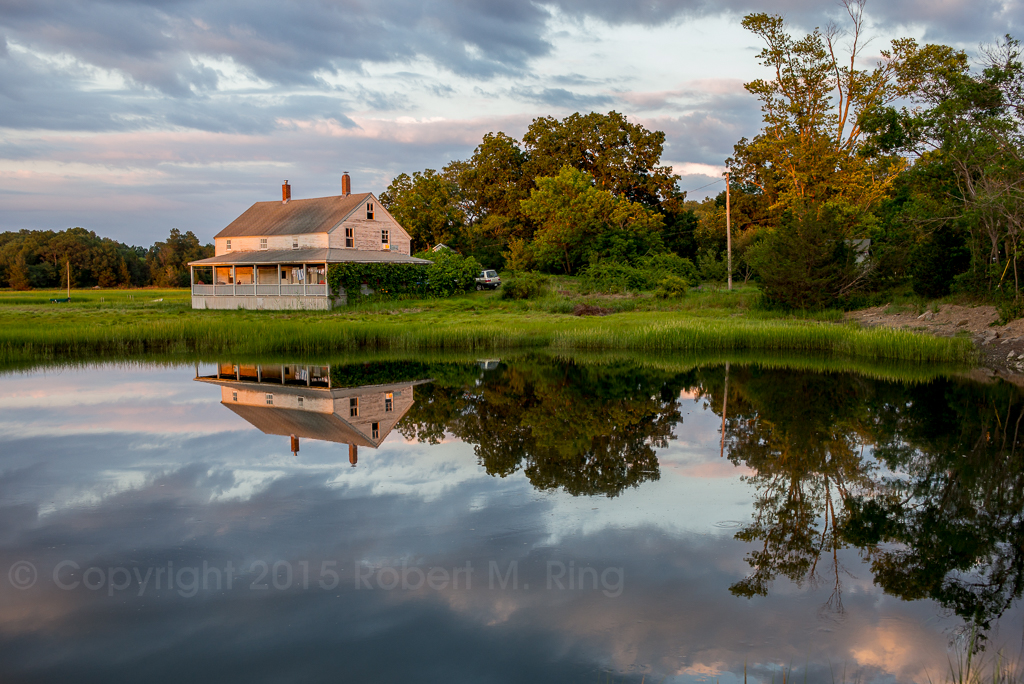 New England, essex, ma, slack water, tide, reflections, photo