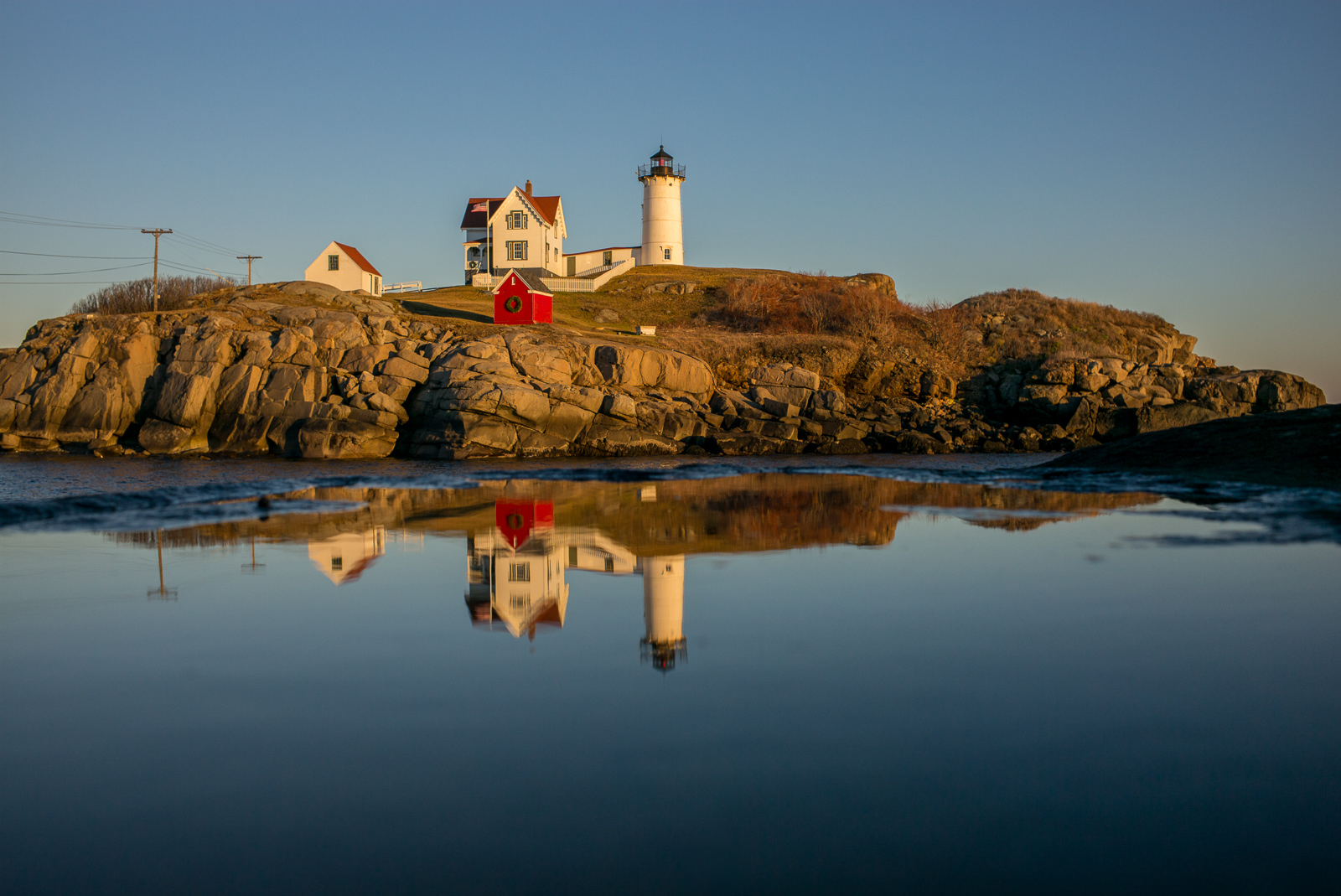 Nubble Light, photo