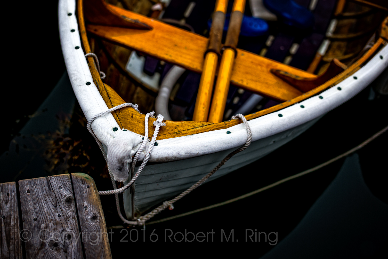 I really enjoy photographing dinghys in harbors.