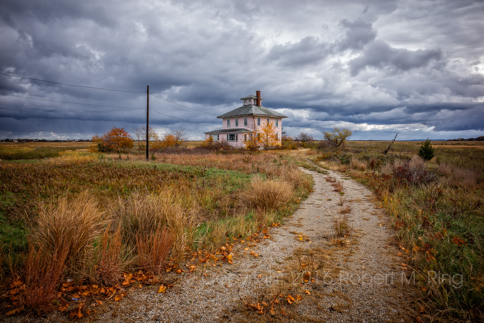 Pink House, New England, Massachusetts, history, PRNWR, Parker River National Wildlife Refuge, clouds, storms, photo