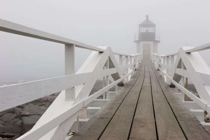 Port Clyde, Maine, Lighthouse, Port Clyde, New England, Fog, photo