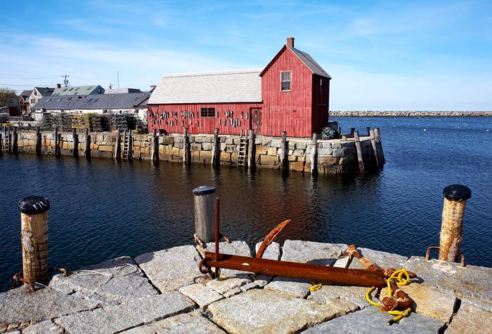 Motif #1, Massachusetts, Rockport, New England, photo