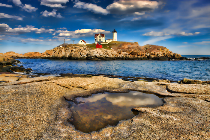Nubble Lighthouse, York, Maine, New England, Lighthouse, Favorites, photo