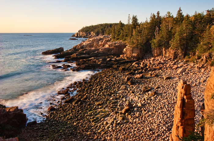 Otter Cliff, Acadia, Acadia National Park, Maine, Coast, New England, photo
