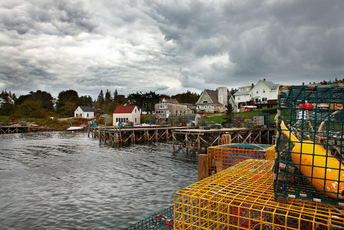 The Port Clyde area of Maine.