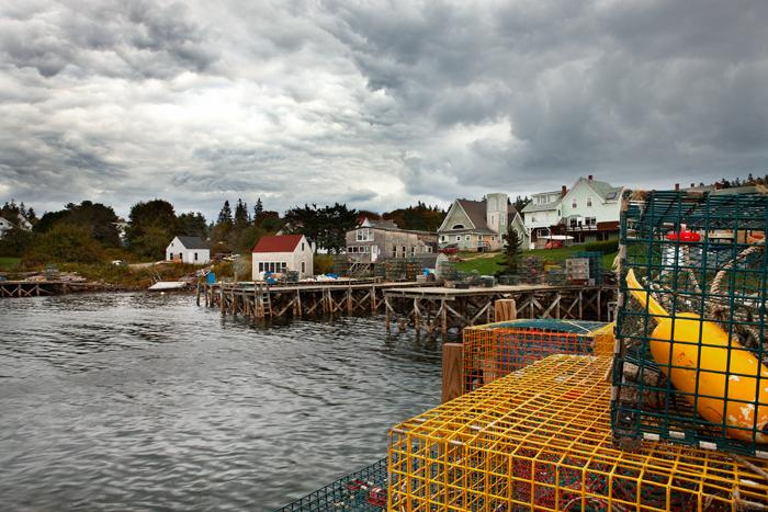 Port Clyde, Maine, Maine Coast, Coast, New England, Harbor, buoys, photo
