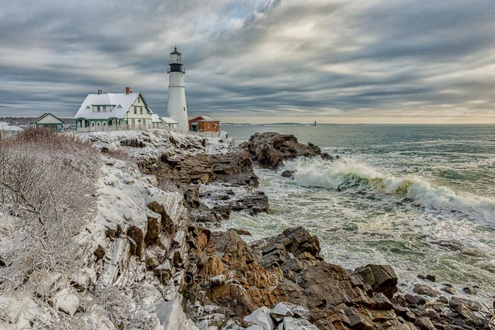 This image is one of my personal all-time favorites of this lighthouse. It was cold and windy but so what! It was...