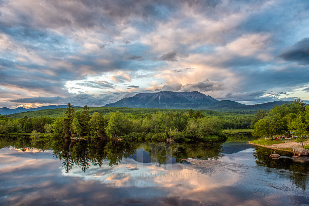 This is now one of my favorite images that I've ever taken of Mt Katahdin in Millinocket, Maine.  Can't add anything else...