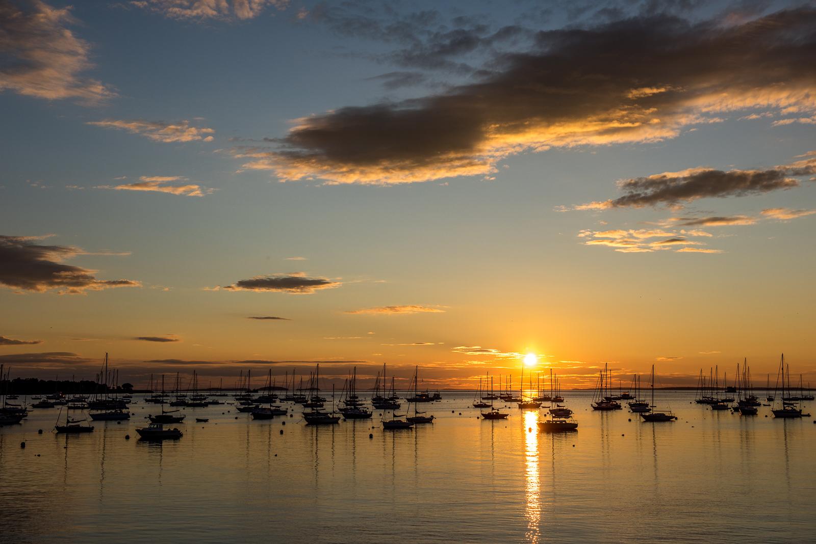 Sunrise, Rockland, ME, new england, coast, scenic, photo