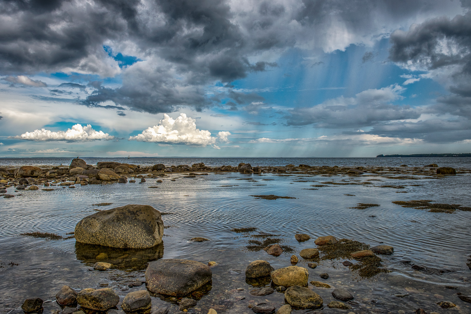 Samoset, penobscot bay, maine, coast, storm, new england, photo