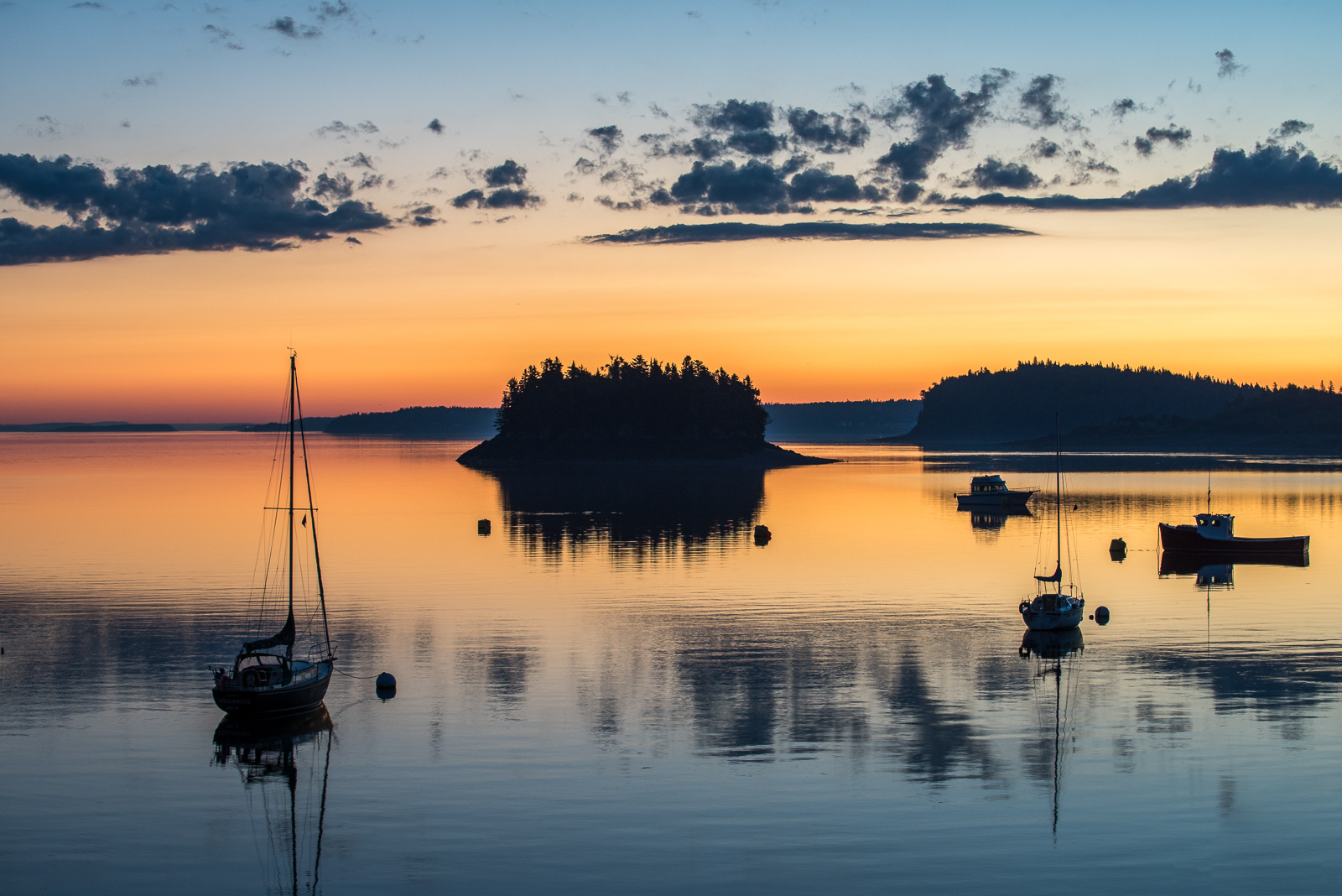 Lubec, harbor, sunrise, early morning light, new engald, coast, photo