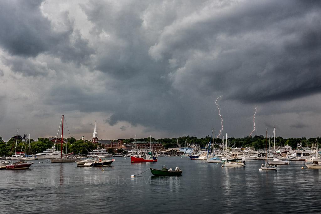 Storm, newburyport, new england, coast, lighning, photo
