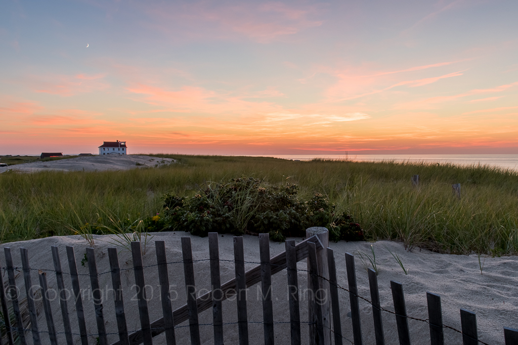 A great location for a sunset on Cape Cod. I've been there the past few years and it's always been a great spot!