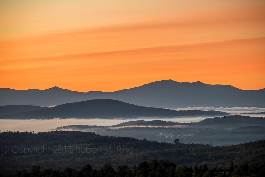 NEK, Northeast Kingdom Of Vermont, Sunrise, Valleys, Fog, New England, New England Photo Workshops, photo