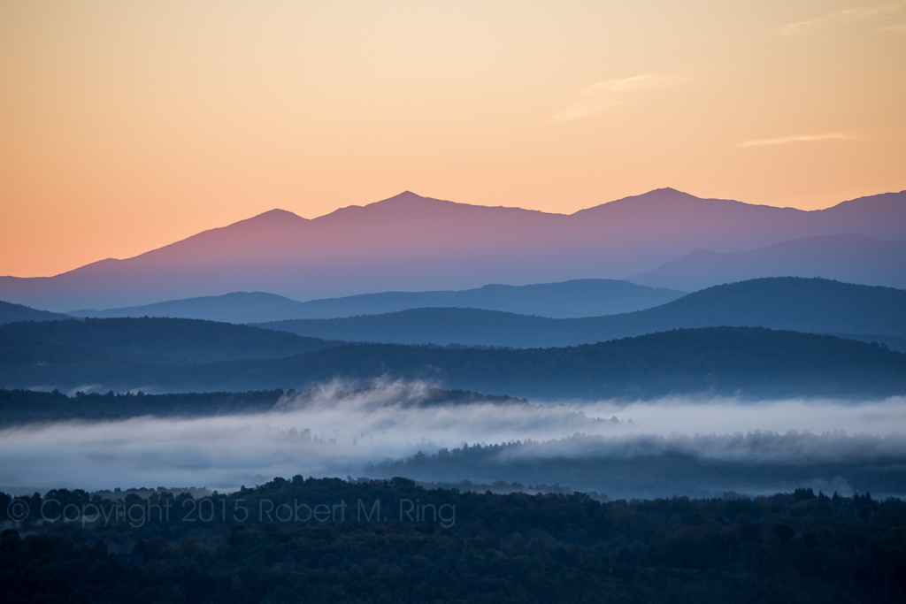 NEK, Northeast Kingdom Of Vermont, Sunrise, Fog, New England, Mountains, New England Photo Workshops, photo