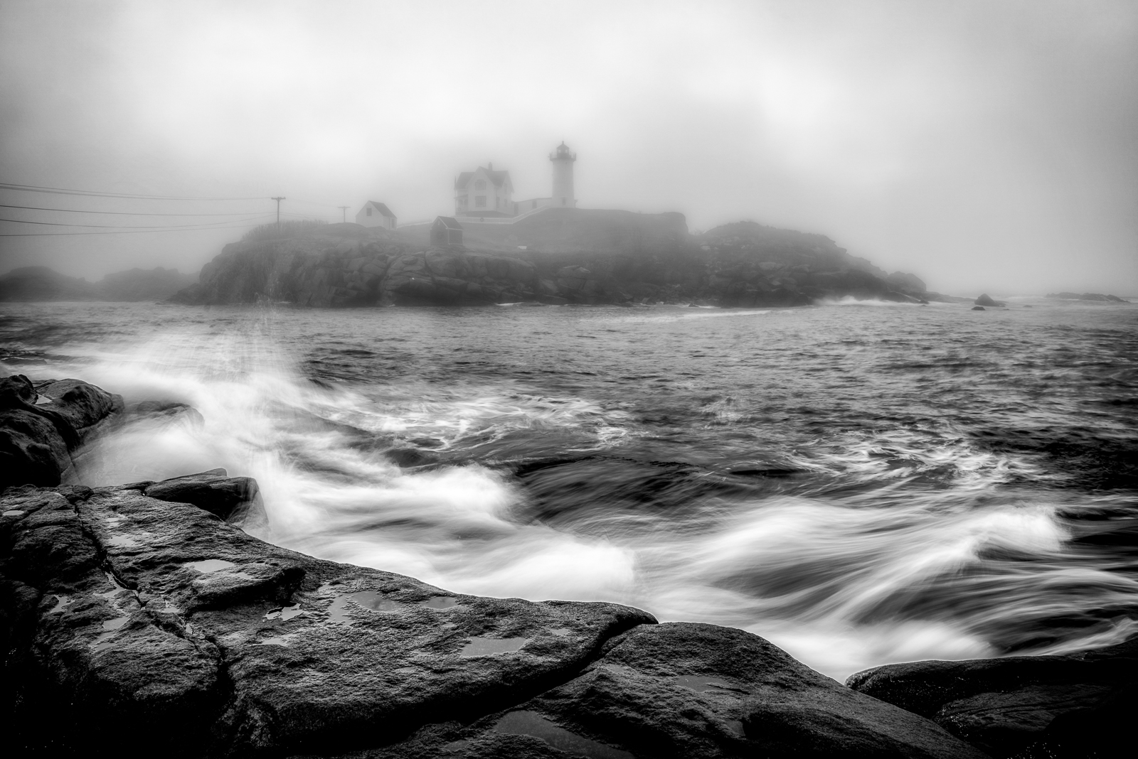 Maine, Maine Coast, Nubble Light, York, photo