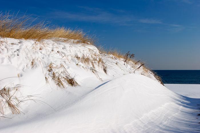 Snow, Snowy, Dune, Beach, Massachusetts, Ocean, New England, Nature, photo