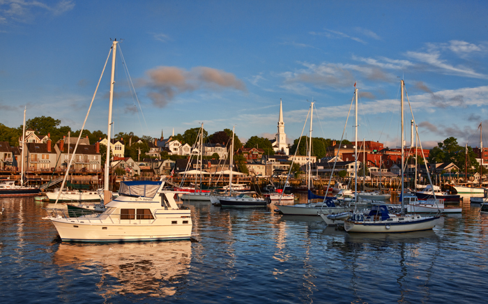 Camden Harbor, Camden, Harbor, Maine, New England, Boats, photo