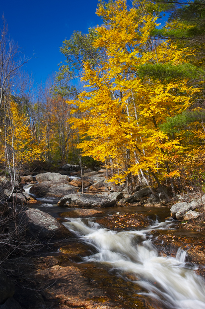 Wilmot, New Hampshire, NH, Foliage, Fall, Stream, New England, photo