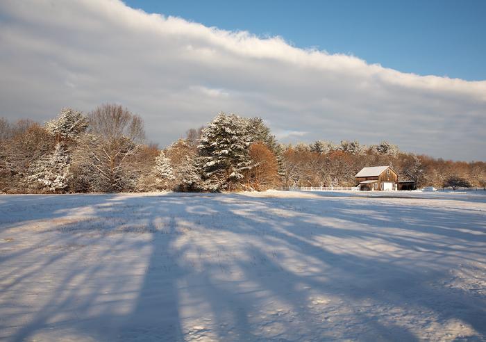 Winter, New England, Snow, Boxford, Massachusetts, photo