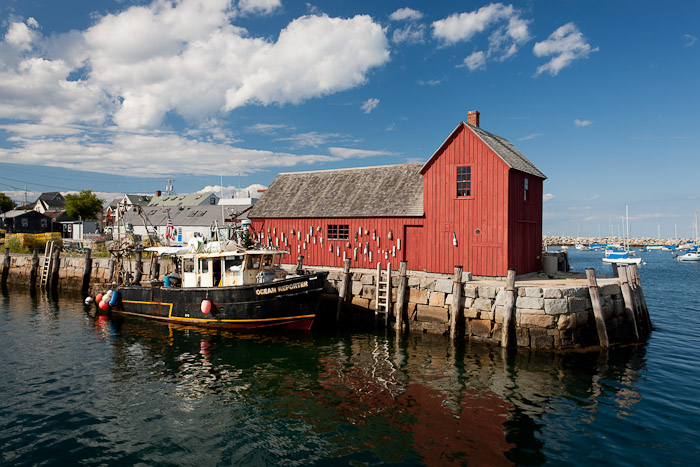 rockport, ma, boat, motif#1, ocean, harbor, new england, photo