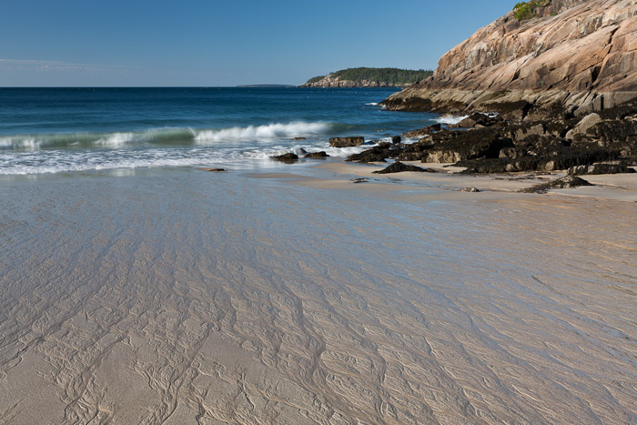 National Park, Acadia, sand, ocean, low tide, new england, New England Photo Workshops, photo