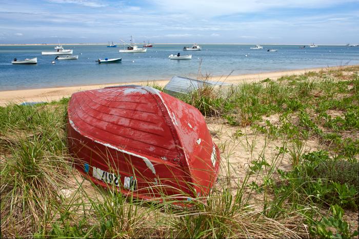 Cape Cod, Chatham, MA, Massachusetts, New England, Boats, Beach, Ocean, Shore, Sand, photo