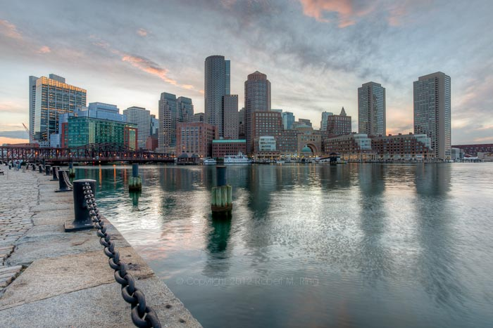 Boston, skyline, massachusetts, harbor, waterfront, travel, New England Photo Workshops, photo