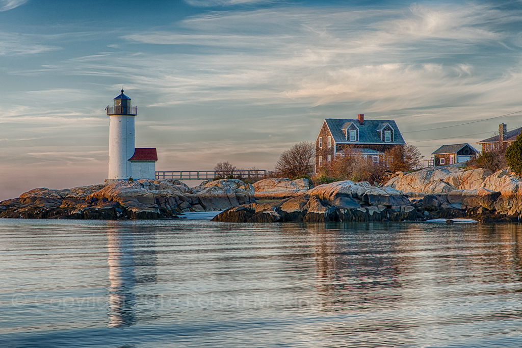 The days get shorter and nights colder before winter finally sets in.  Here is a photo of Annisquam Harbor Lighthouse In...