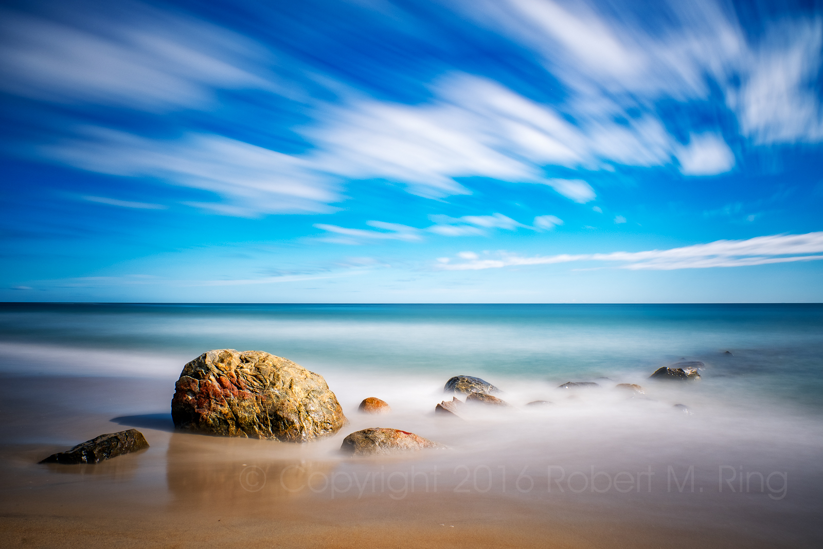 Three minutes....Using a 15 stop ND filter in bright sunlight at Sandy Point State Reservation on the southern tip of Plum Island...