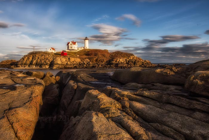 Nubble Light, New England, Lighthouse, Maine, Coast, photo