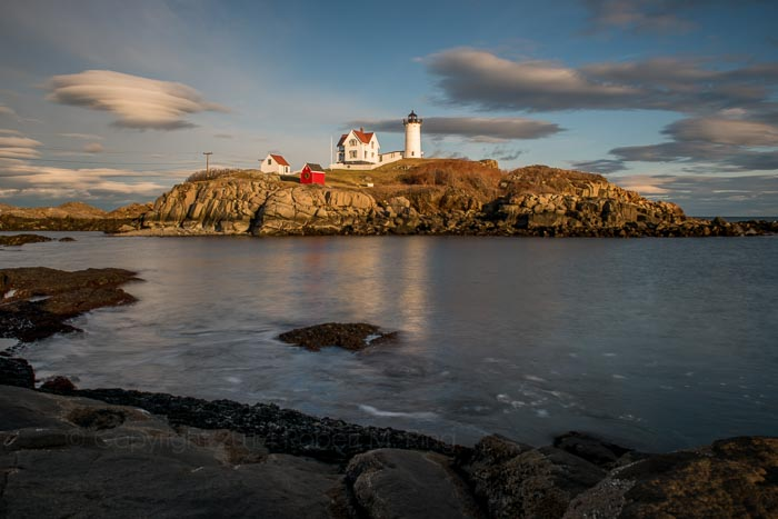 Nubble Light, Lighthouse, New England, Maine, Coast, photo