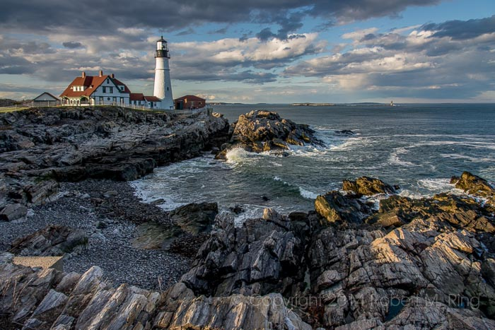 This is one of my favorite images that I've ever taken of Portland Head Light. I just love the clarity, the light the waves...