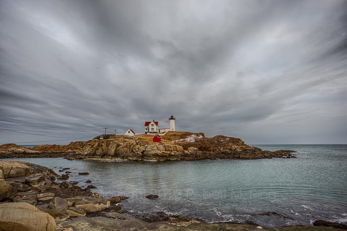 lighthouse, atlantic ocean, coast, scenic. york, maine, clouds, Nubble Light, ocean, atlantic, new england, coast, , photo