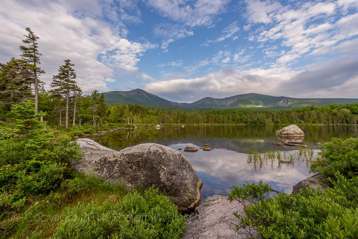Great North Woods, Sandy Stream Pond, Baxter St Park, Maine, Landscape, Scenic, New England Photo Workshops, photo