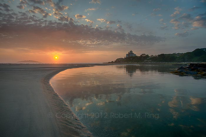 A second image from a fantastic sunrise morning at Good Harbor Beach in Gloucester, MA