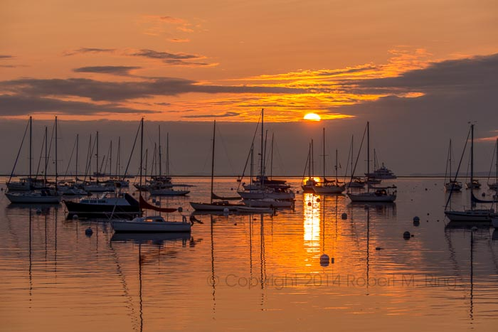 Samoset, Sunrise, Rockland, Atlantic, ocean, New England, boats, photo