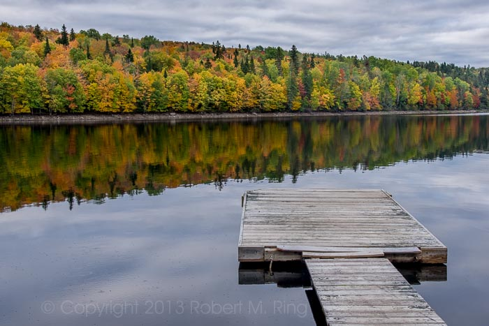 NH, New England, Lake, Pittsburg, Foliage, photo
